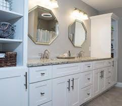 white shaker bathroom cabinets contemporary white shaker bathroom vanity regarding bathrooms design