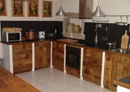 cuisine ardoise et bois cuisine atelier ferrière