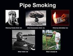 Smoking Meme - funny pipe smoking meme
