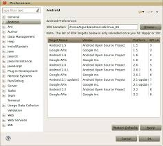 android sdk eclipse 1 installing the android sdk and prerequisites programming