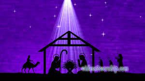 christmas manger christmas manger worship motion background