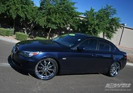 black rims for bmw 5 series 2008 bmw 5 series with 21 fortune alloys fs10 in black machined