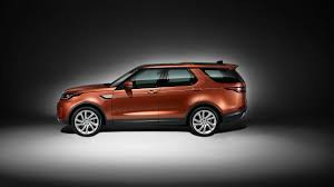 burgundy range rover 2016 2017 land rover discovery 3 row luxury suv at the 2016 paris motor
