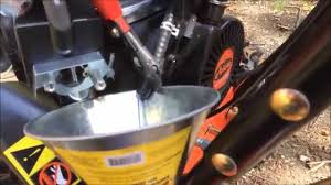 the half assed guide draining the gas from a 2014 ariens snow