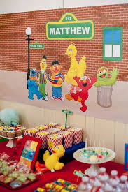 elmo birthday party 475 best sesame barrio sesamo images on