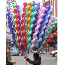 amazon com 50pcs latex spiral balloons 40