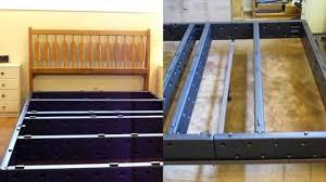 bedroom full size metal bed frame mattress frame height