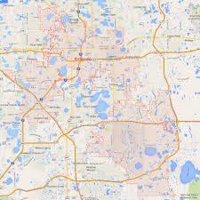 Daytona Florida Map by Orlando Florida Map
