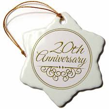 3drose orn 154462 1 20th anniversary gift gold text