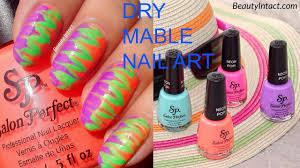 nail art no mess watermarble tutorialy mannas manis re pin nail