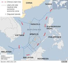 sea of map why is the south china sea contentious