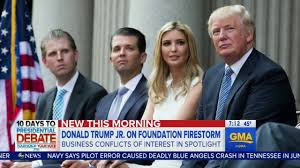 Blind Stupid And Desperate Donald Trump Jr Says Running The Company While Dad Is Pres Is