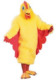 Mascot Costumes Halloween Tender Chicken Mascot Costume Chicken Halloween Costumes
