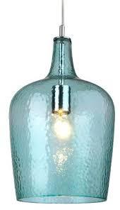 Funky Pendant Lighting Funky Pendant Light Turquoise Feather Glass Lighting Blue Lights