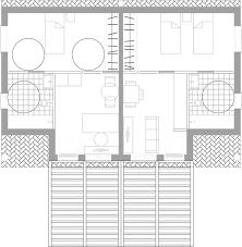 blueprints double villa calnegre village