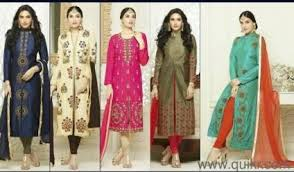 latest designer kurtis and dress material for wholesale only