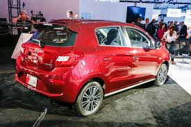 mitsubishi mirage hatchback 97 refreshed 2017 mitsubishi mirage debuts sedan on the way