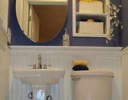 Modern Powder Room - sink pallet wall in powder room designs powder room ideas bright