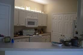 Led Lights Kitchen Cabinets Above Cabinet Kitchen Reveal U2013 Kitchen Cabinet Upgrade