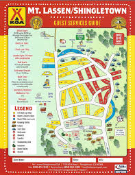 Cable Car Map San Francisco Pdf by Shingletown California Campground Mt Lassen Shingletown Koa