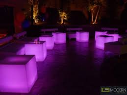 light up cubes illuminated furniture rechargeable led cube with color change remote