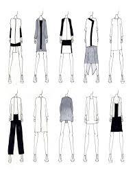 fashion portfolio modern tailoring fashion design sketches