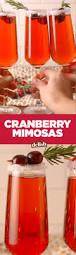 thanksgiving dinner drinks cranberry mimosas recipe cranberry mimosa thanksgiving and