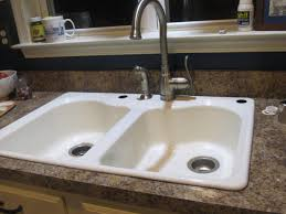 Air Gap Kitchen Sink by Kitchen Sinks Farmhouse Sink Air Gap Triple Bowl Rectangular