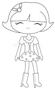 fashion coloring stock illustration image 53482151