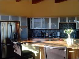 Glass Kitchen Cabinet Doors Home Depot by Kitchen White Frosted Glass Cabinets What To Put In Glass Door
