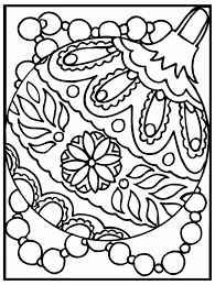 free coloring pages ornaments coloring page with