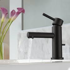 black bathroom sink faucets you u0027ll love wayfair