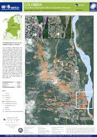 Colombian Map Flood In Colombia Charter Activations International Disasters