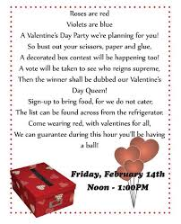 valentine u0027s day office party invitation the undercover princess