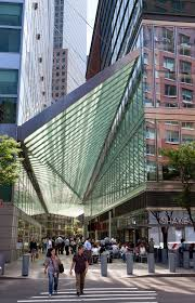 Goldman Sachs Glass Door Architectural Canopy Shines In Battery Park City Goldman Sachs