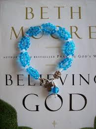 beth moore believing god bible study bracelet bible isaiah 43