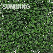 artificial boxwood hedges panels 6pcs 50 50cm outdoor decorative