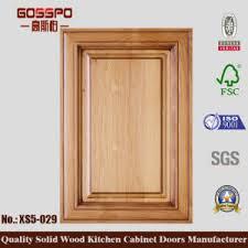Kitchen Cabinet Door Manufacturer China Simple Solid Wood Kitchen Cabinet Door Gsp5 029 China