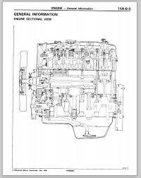 mitsubishi diesel engine manual cdrom 4d55 4d56 4d56t 4m40 4m41