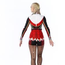 halloween costume queen of hearts of hearts biketard ac5053
