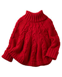Sweater Toddler Poncho Turtleneck Sweater Carters
