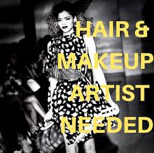makeup artists needed hair makeup artist needed brave wings fashion show