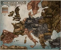 Ww1 Map World War 1 Map