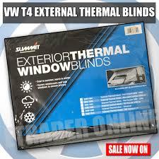 volkswagen vw t4 camper van external thermal window blinds screen