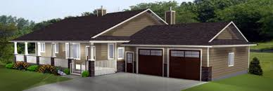 Craftsman Ranch Floor Plans House Plan Daylight Basement Plans Walkout Basement Plans