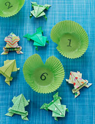 how to make a jumping origami frog parents