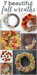 Fall Wreaths 7 Beautiful Fall Wreaths Place Of My Taste
