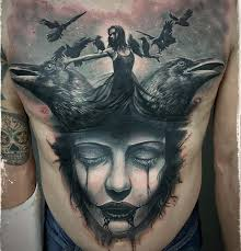 front tattoos ideas