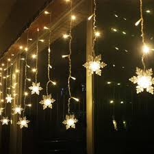 led fairy string lights 3 8m led curtain snowflake string lights led fairy lights 8 modes