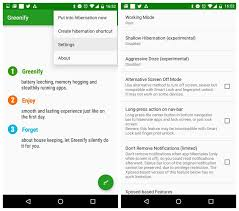 hibernate apk greenify apk troubleshooting and tips to best use greenify apk